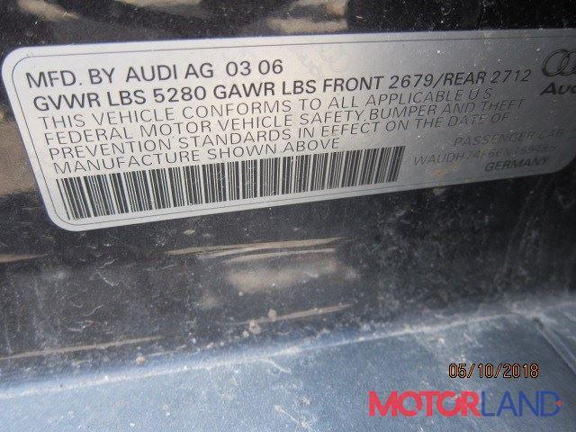 Audi A6 (C6) 2005-2011, разборочный номер 15183 #6