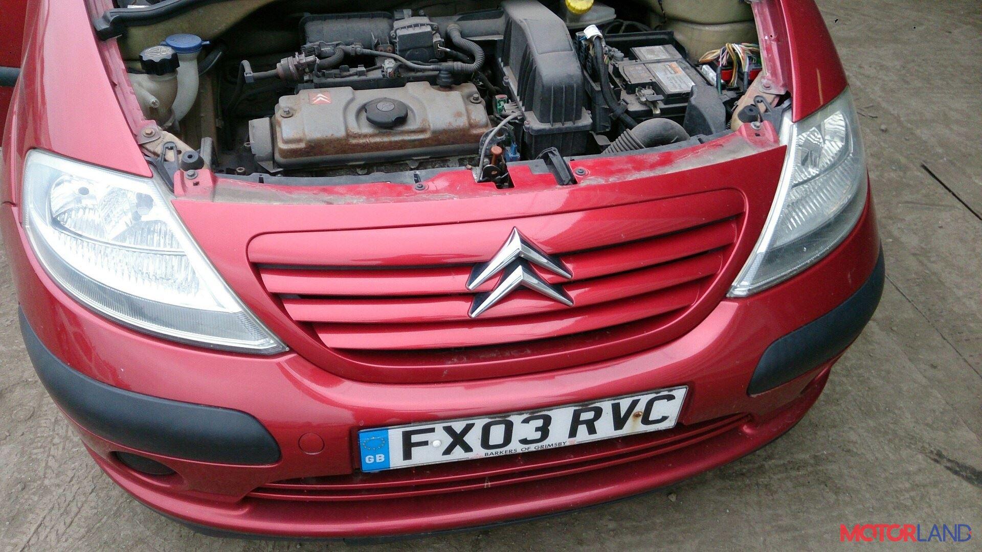 Citroen C3 2002-2009 1.4 литра Бензин Инжектор, разборочный номер T12139 #1