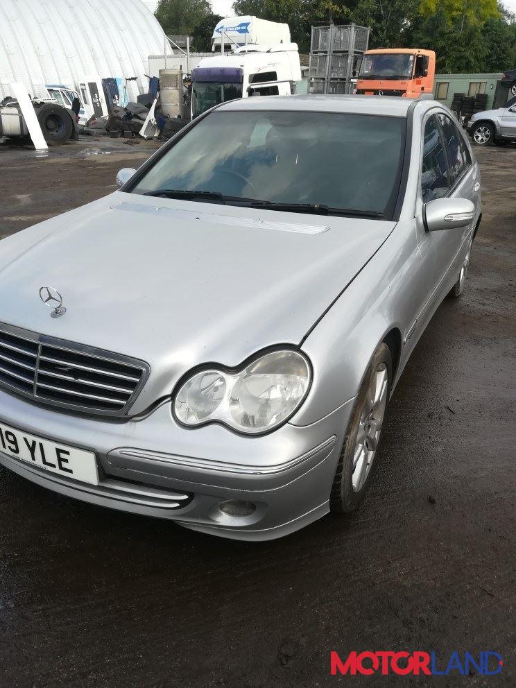 Mercedes C W203 2000-2007 1.8 литра Бензин Турбо-инжектор, разборочный номер T12317 #1