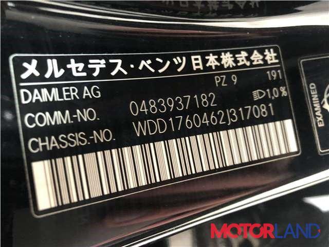 Mercedes A W176 2012-2018 2 литра Бензин Турбо-инжектор, разборочный номер J5784 #1