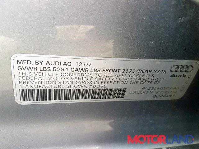 Audi A6 (C6) 2005-2011, разборочный номер P222 #7