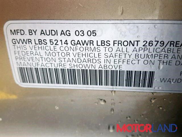 Audi A6 (C6) 2005-2011, разборочный номер P301 #7