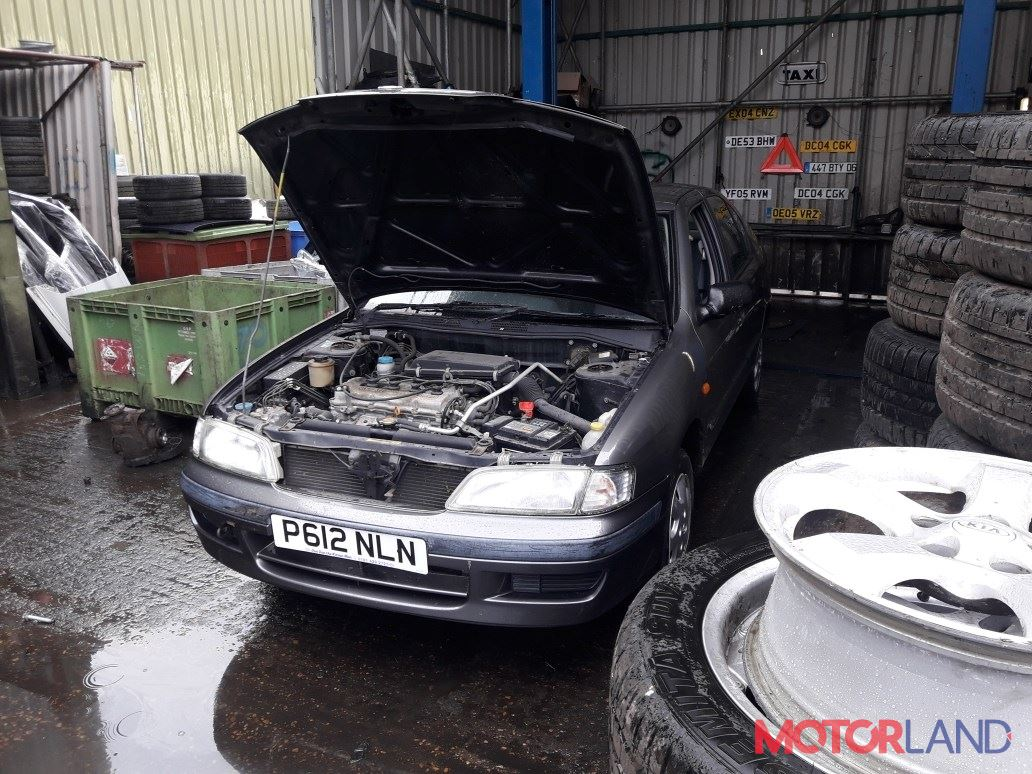 Nissan Primera P11 1996-1998 1.6 литра Бензин Инжектор, разборочный номер 98120 #1