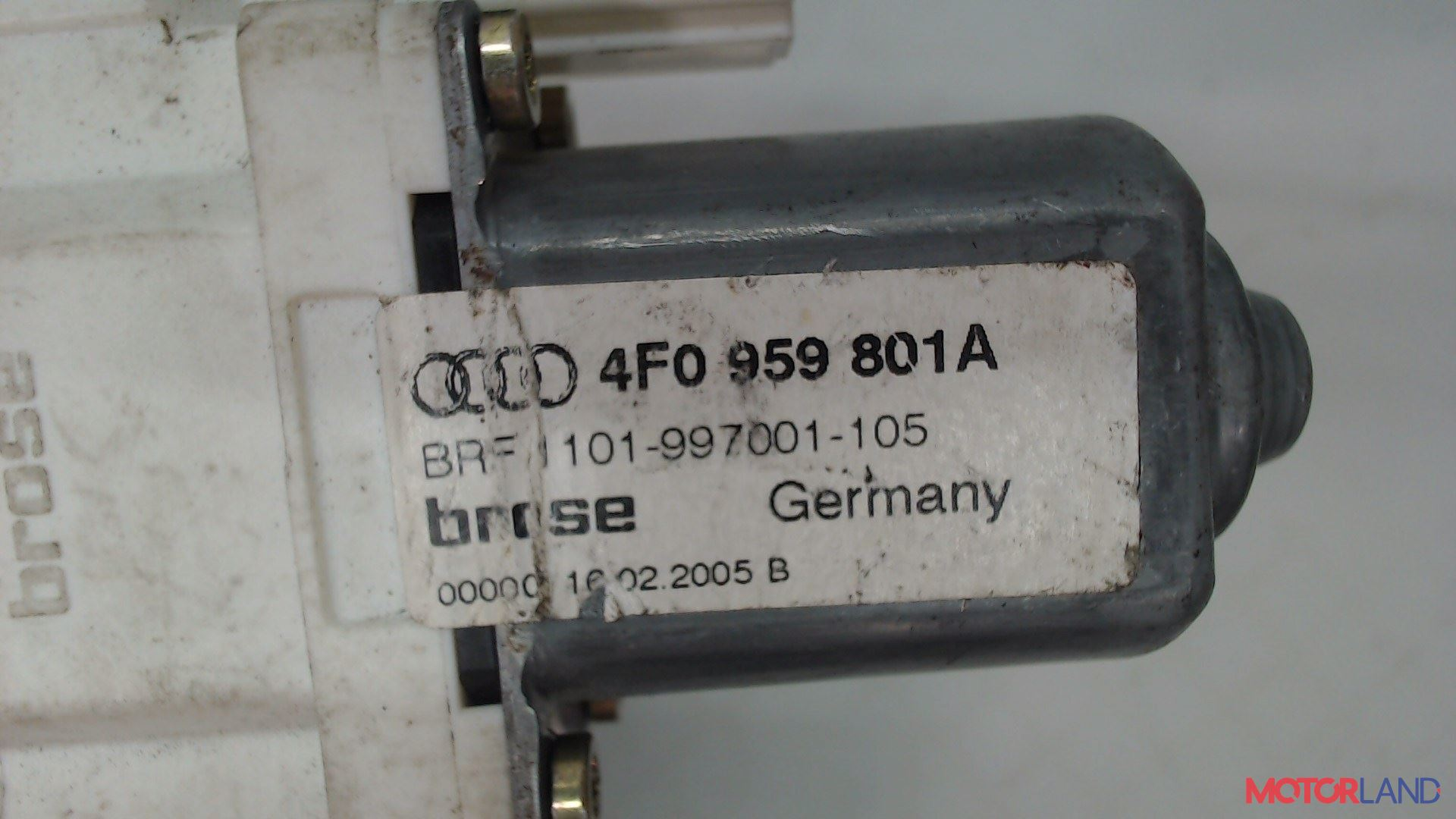 Двигатель стеклоподъемника Audi A6 (C6) 2005-2011 3.2 л. 2005  б/у #3