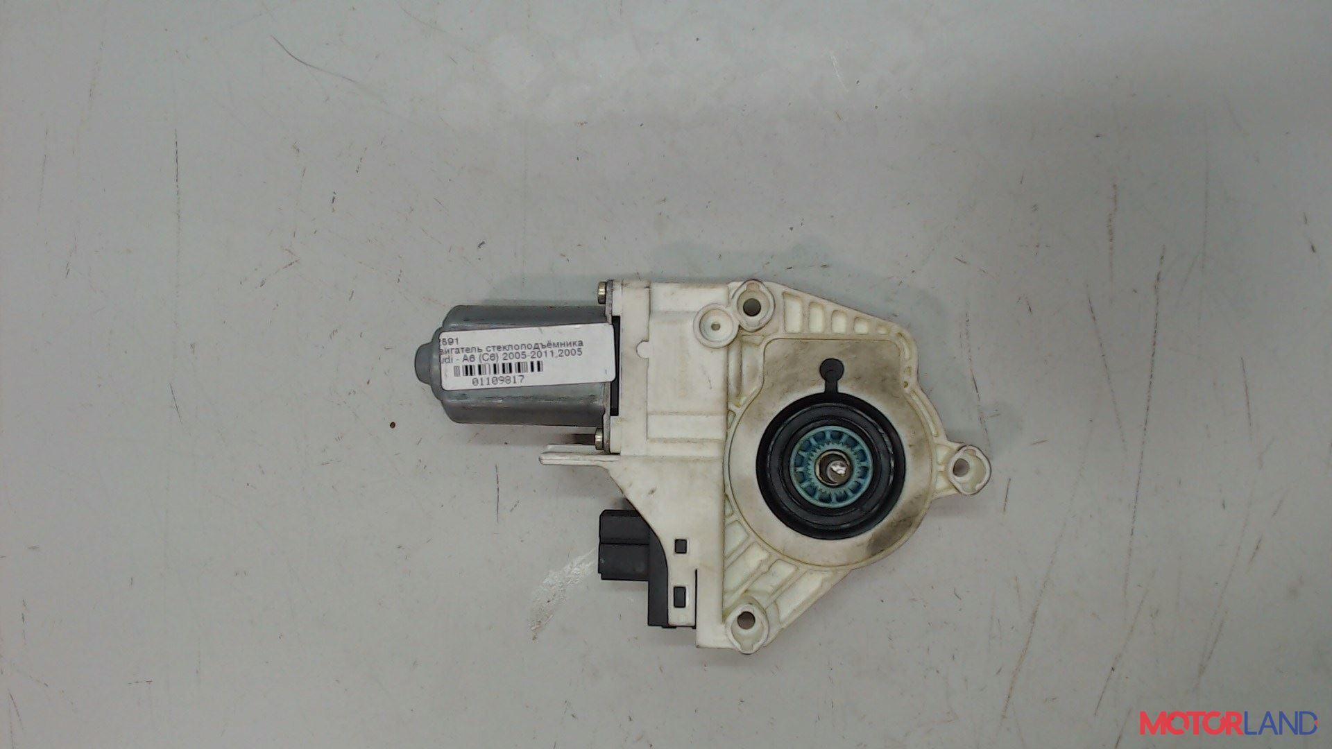 Двигатель стеклоподъемника Audi A6 (C6) 2005-2011 2.4 л. 2005 BDW б/у #1