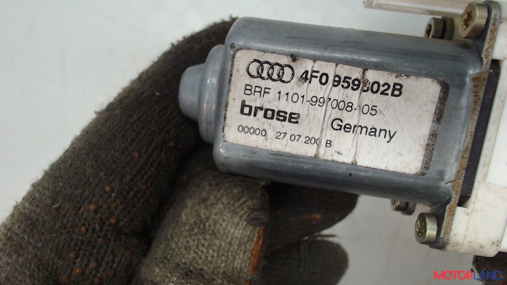 Двигатель стеклоподъемника Audi A6 (C6) 2005-2011 2.4 л. 2005 BDW б/у #3