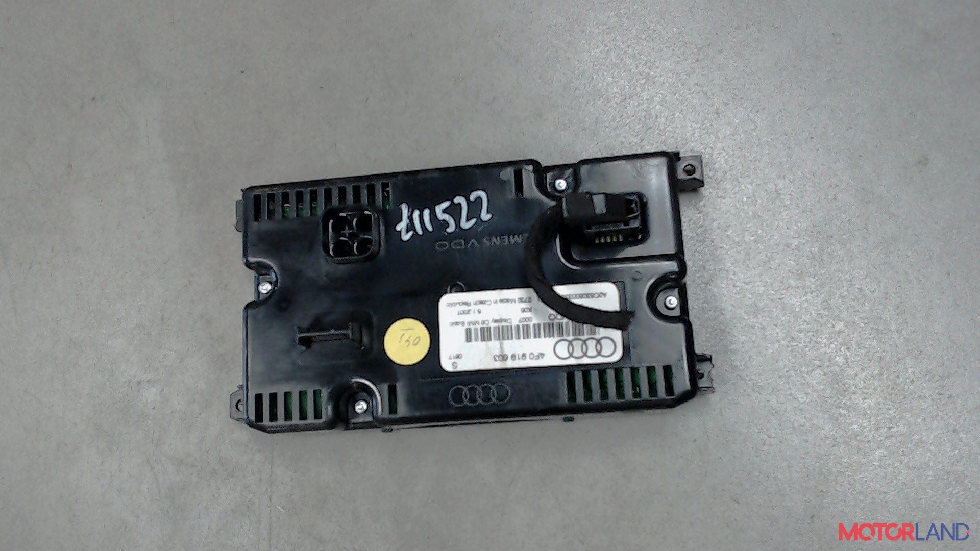 Дисплей компьютера (информационный) Audi A6 (C6) 2005-2011 2 л. 2007 BRE б/у #2