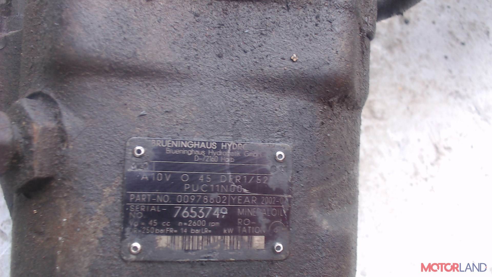 Насос гидравлический (отбора мощности) DAF LF 45 2001- 3.9 л. 2002  б/у #1