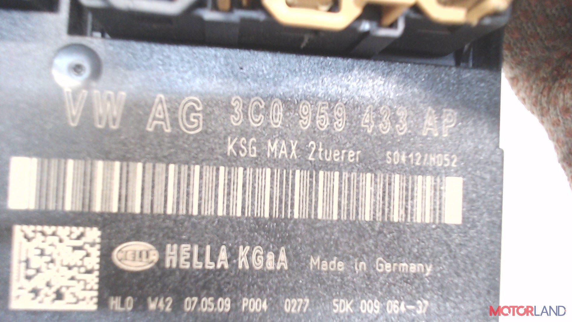 Блок управления (ЭБУ) Audi A6 (C6) 2005-2011 3.2 л. 2006 BKH б/у #3