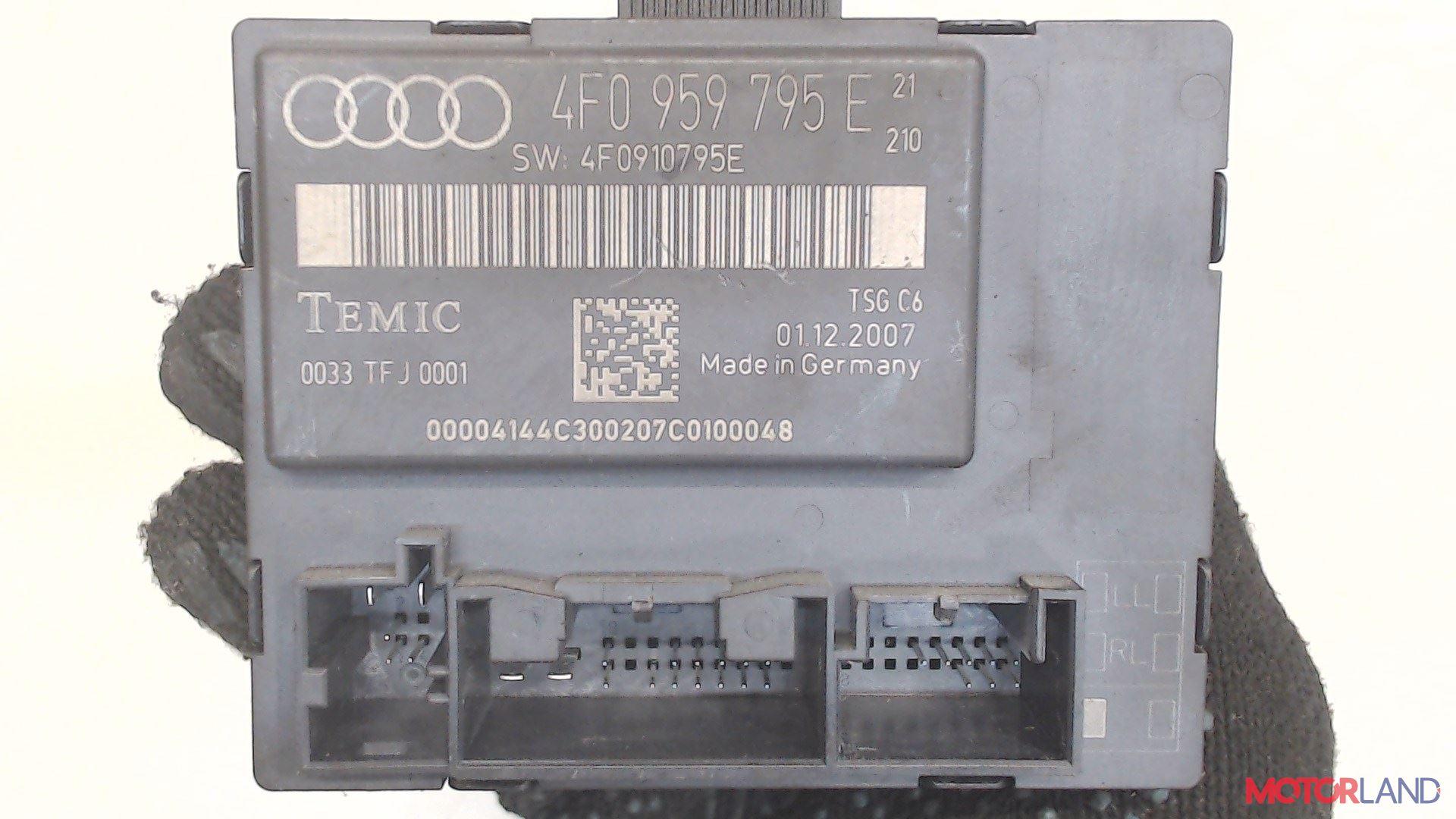 Блок управления (ЭБУ) Audi A6 (C6) 2005-2011 3.2 л. 2007 BKH б/у #3