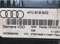 4F0919603 Дисплей компьютера (информационный) Audi A6 (C6) 2005-2011 5507645 #3