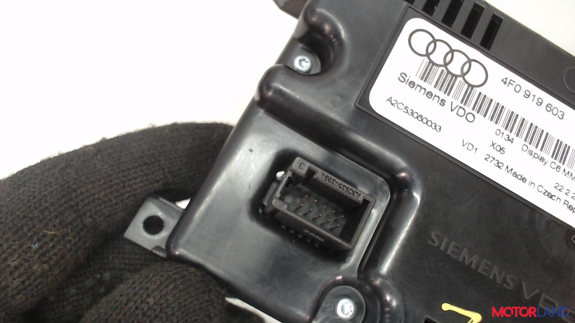 Дисплей компьютера (информационный) Audi A6 (C6) 2005-2011 2 л. 2006 BPJ б/у #3