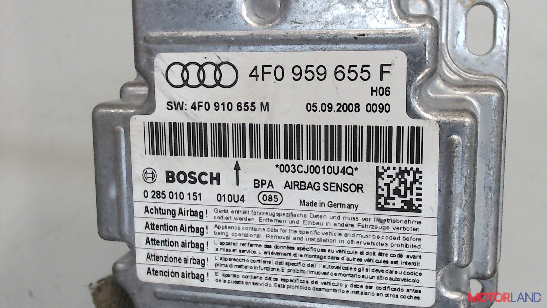 Блок управления (ЭБУ) Audi A6 (C6) 2005-2011 3 л. 2011 CCAA б/у #2