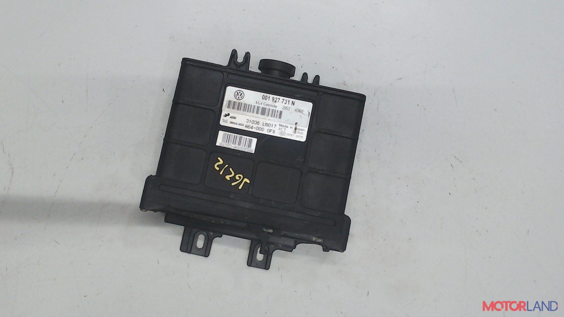 Блок управления (ЭБУ) Volkswagen Lupo 1.4 л. 1998 BBY б/у #1