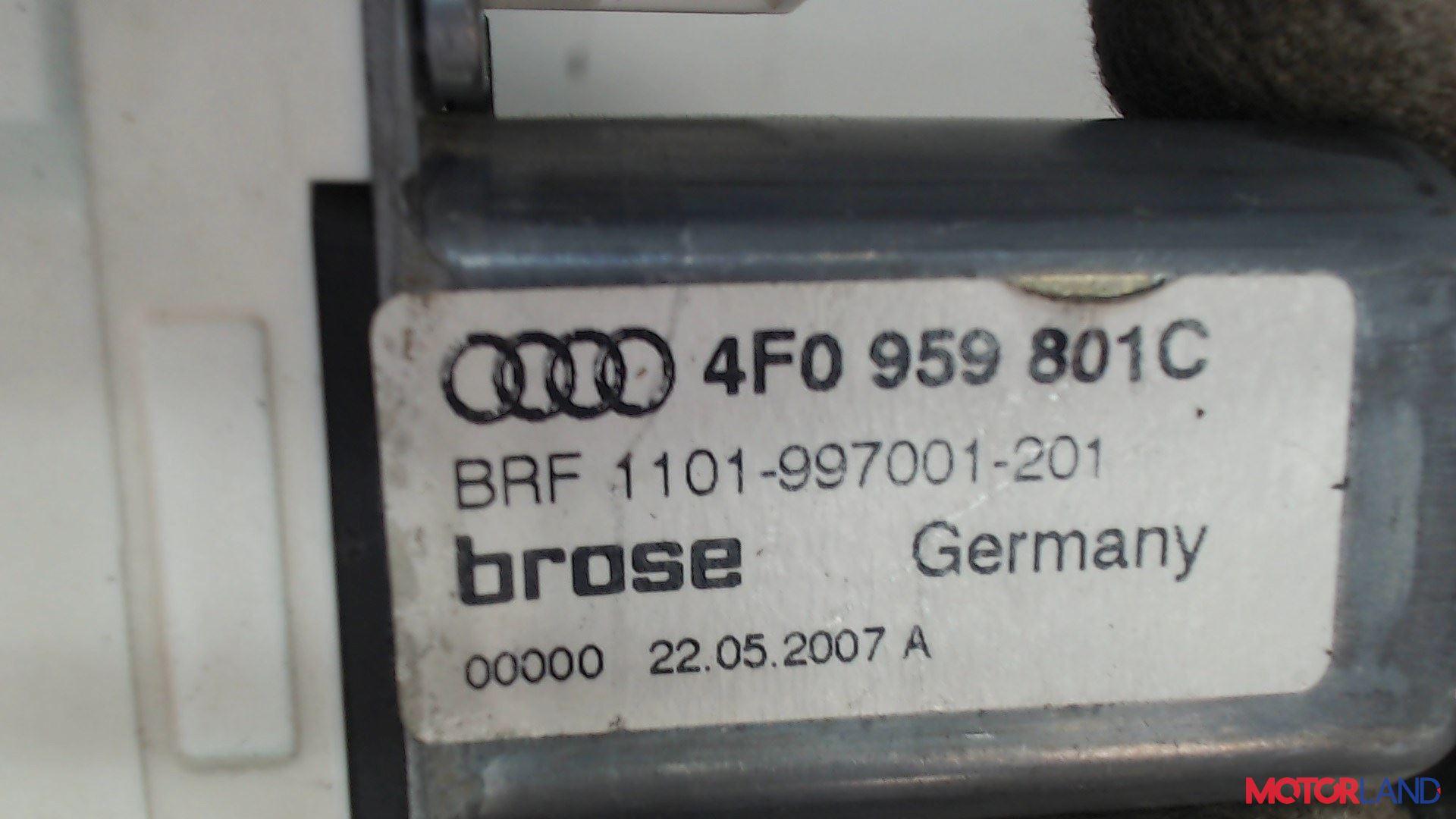 Двигатель стеклоподъемника Audi A6 (C6) 2005-2011 2 л. 2007 BRE б/у #3