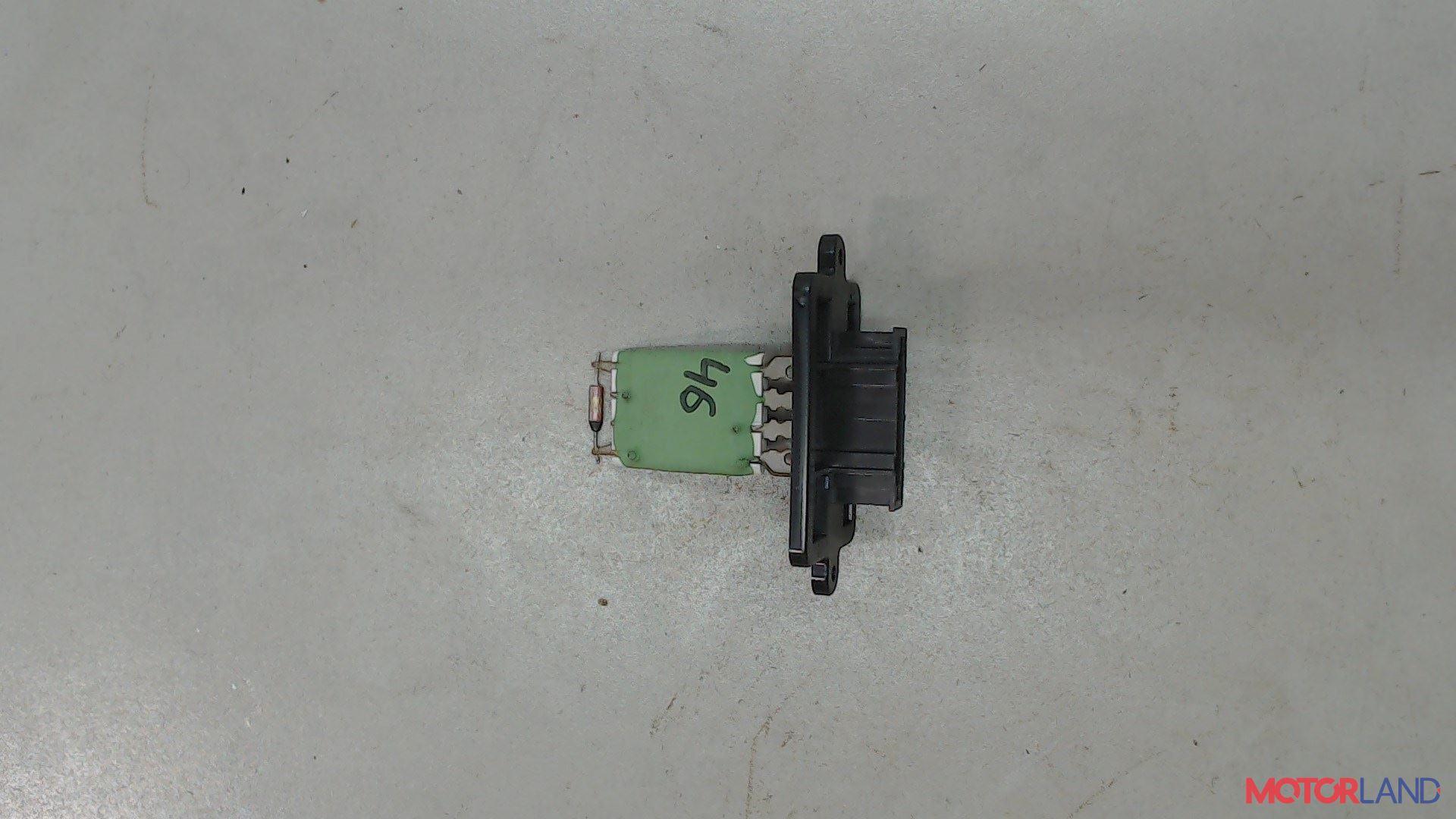 Сопротивление отопителя (моторчика печки) [AdditionalType] Dacia Sandero 2012-, [КонстрНомер-Артикул] #1