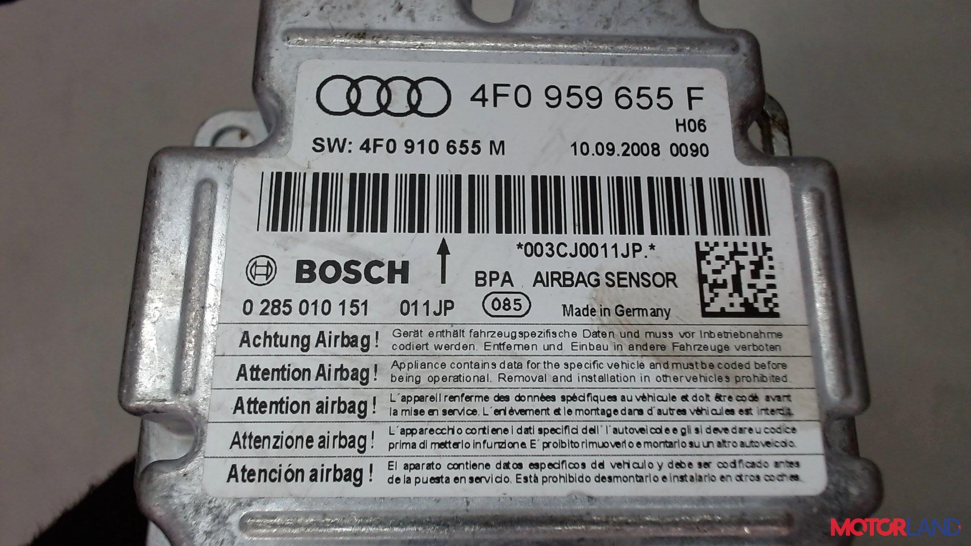 Блок управления (ЭБУ) Audi A6 (C6) 2005-2011 3 л. 2009 CCAA б/у #4