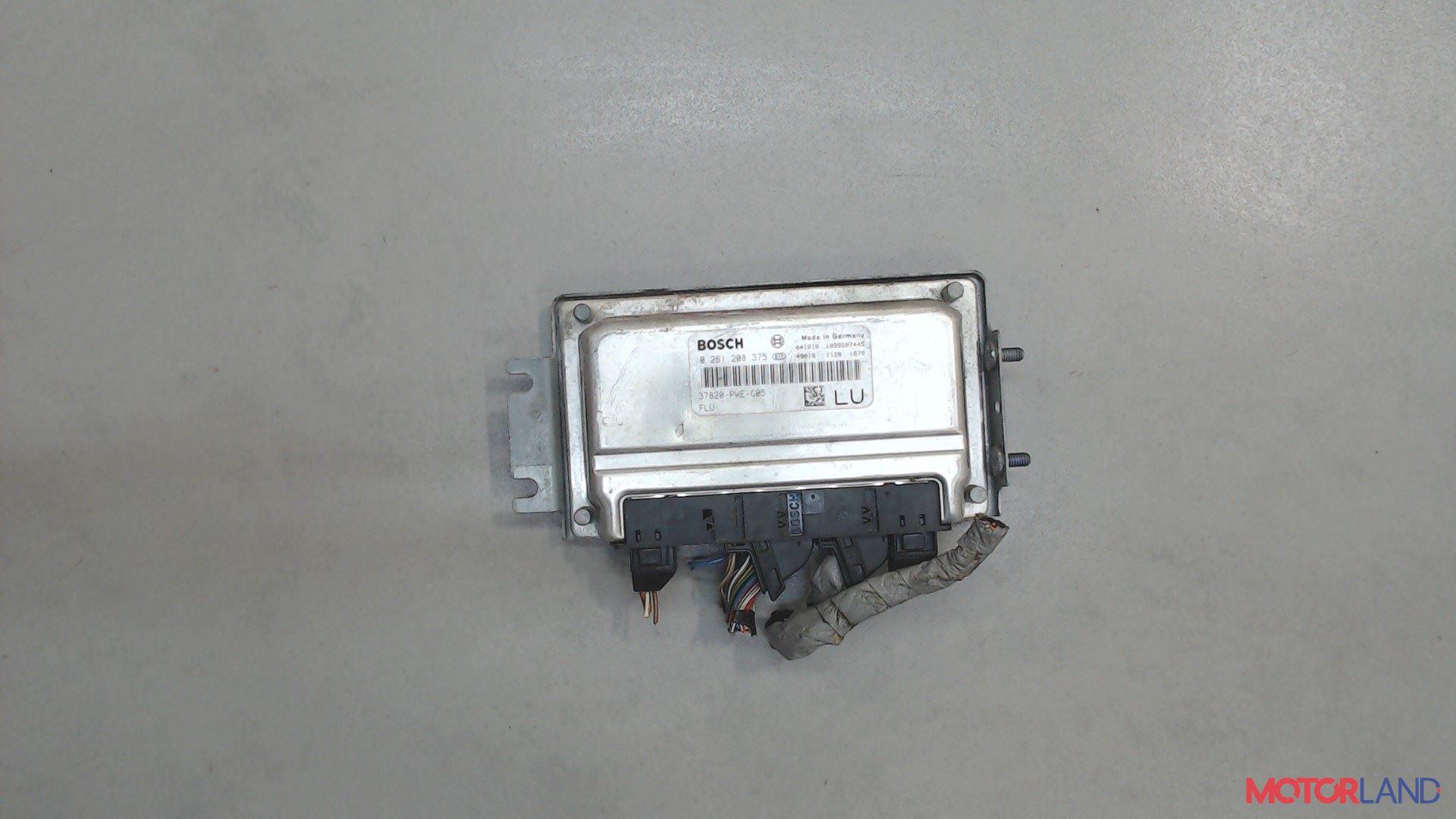 Блок управления (ЭБУ) Honda Jazz 2002-2008 1.3 л. 2004 L13A1 б/у #1