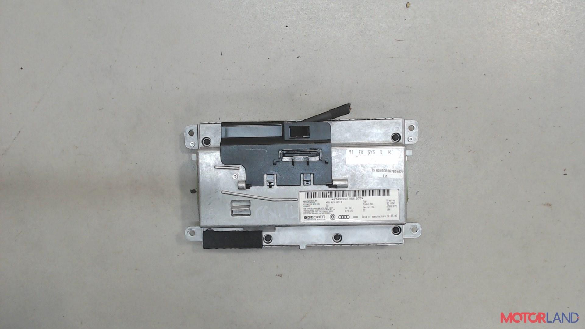 Дисплей компьютера (информационный) Audi A6 (C6) 2005-2011 2.7 л. 2006 BPP б/у #2