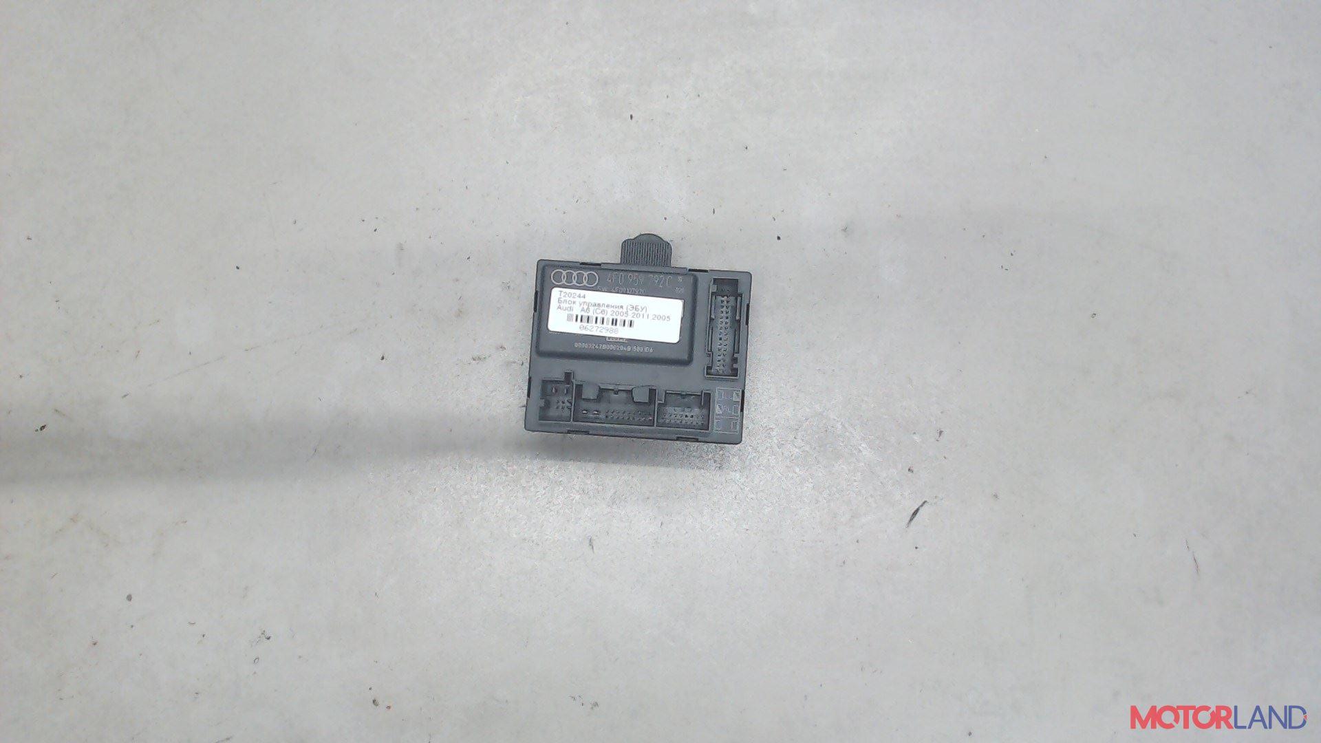 Блок управления (ЭБУ) Audi A6 (C6) 2005-2011 3 л. 2005 BMK б/у #1