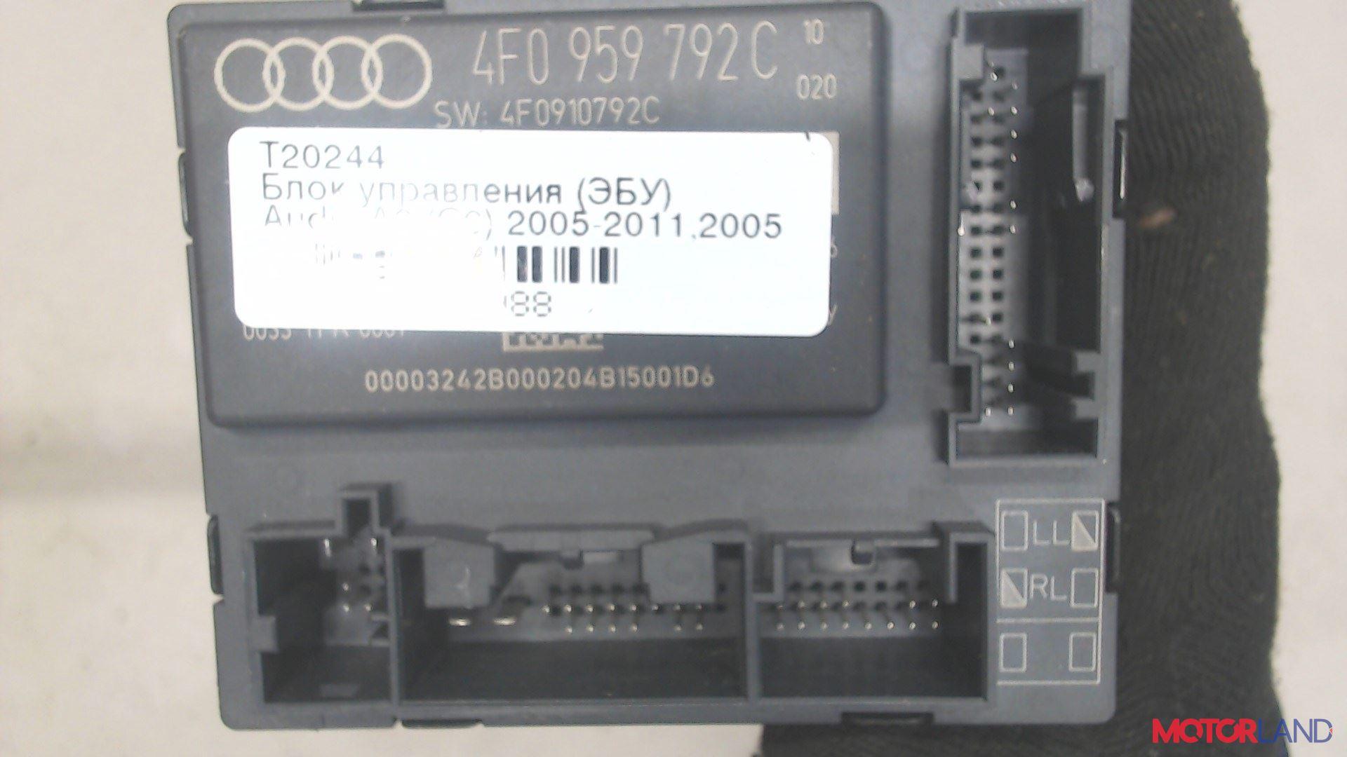 Блок управления (ЭБУ) Audi A6 (C6) 2005-2011 3 л. 2005 BMK б/у #3