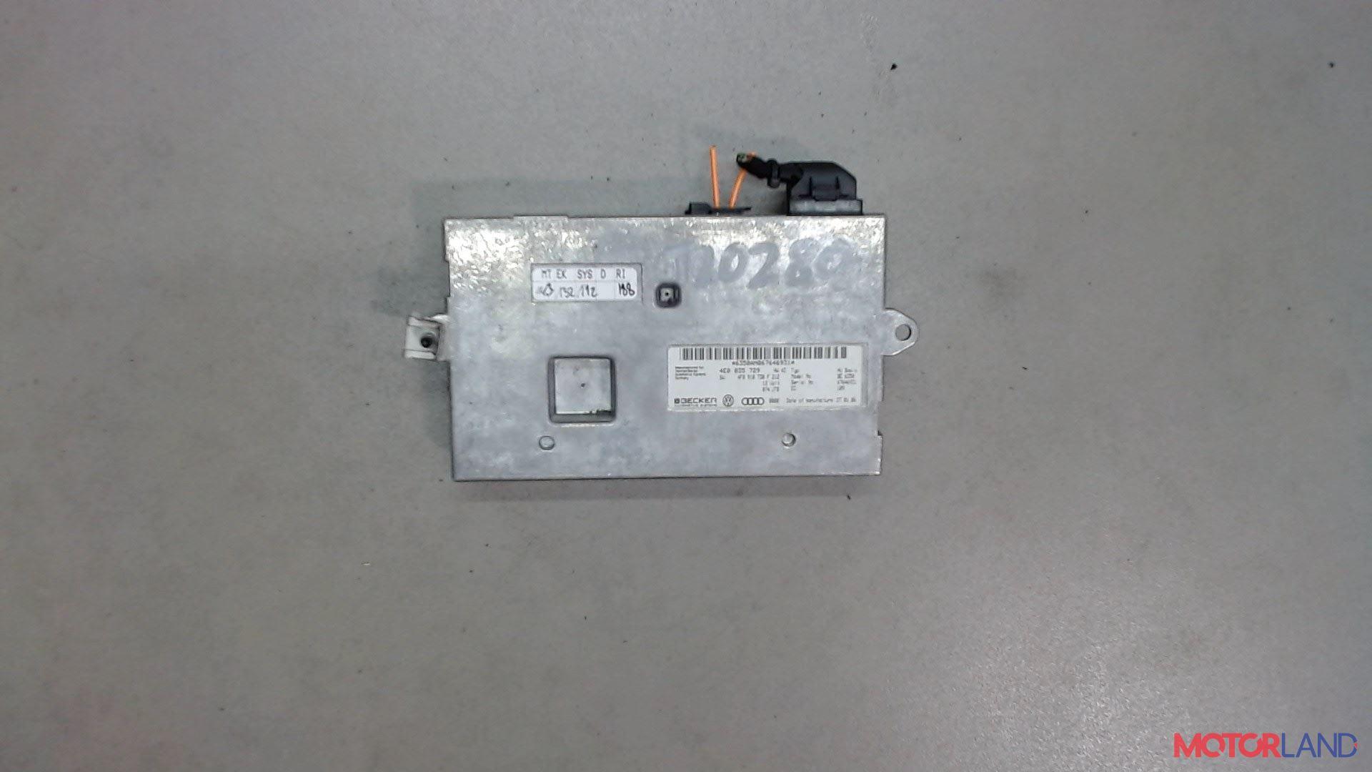 Блок управления (ЭБУ) Audi A6 (C6) 2005-2011 3 л. 2006 BMK б/у #1