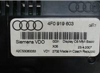 4f0919603 Дисплей компьютера (информационный) Audi A6 (C6) 2005-2011 6378584 #3
