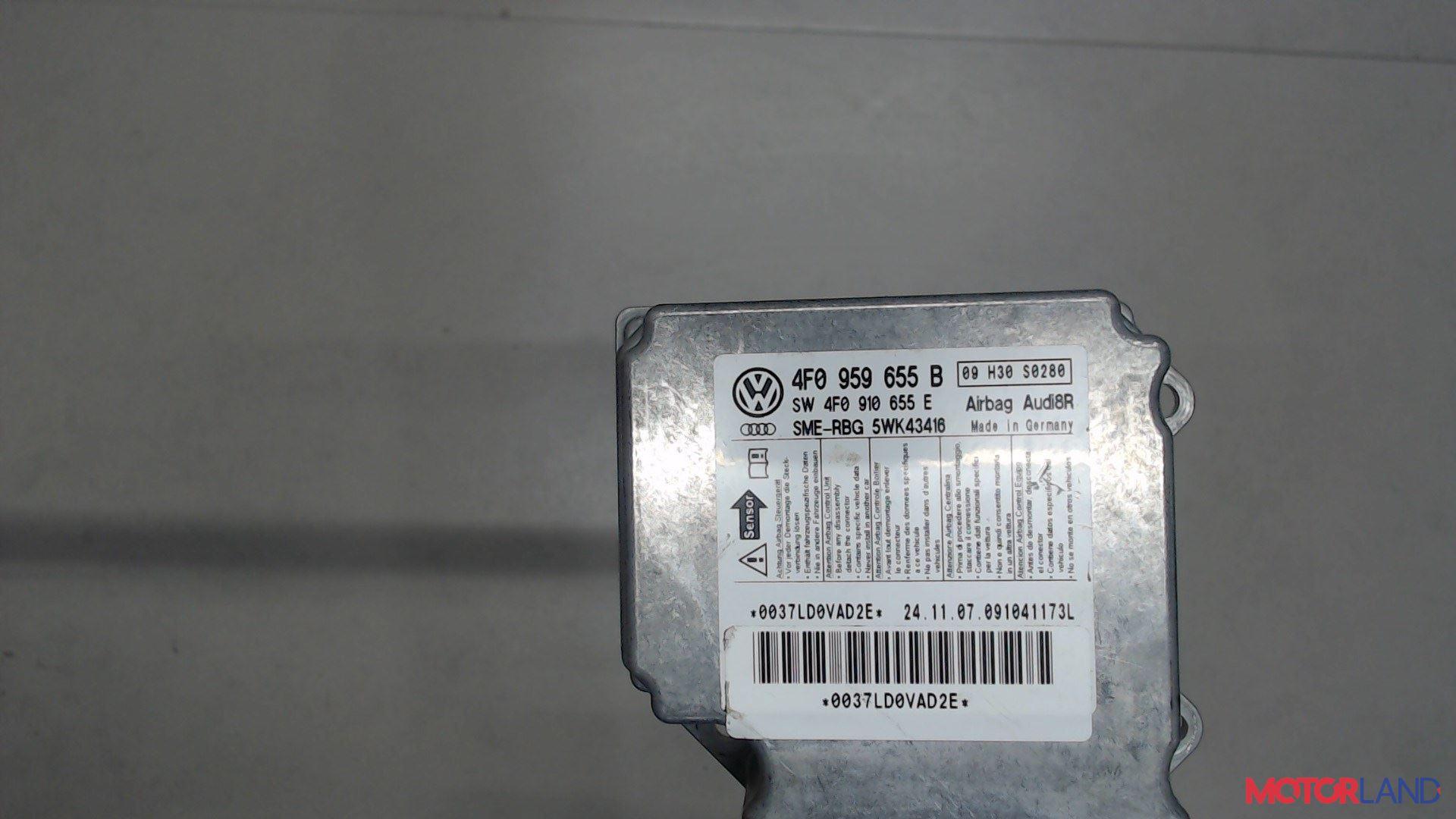 Блок управления (ЭБУ) Audi A6 (C6) 2005-2011 2 л. 2008 BRE б/у #2