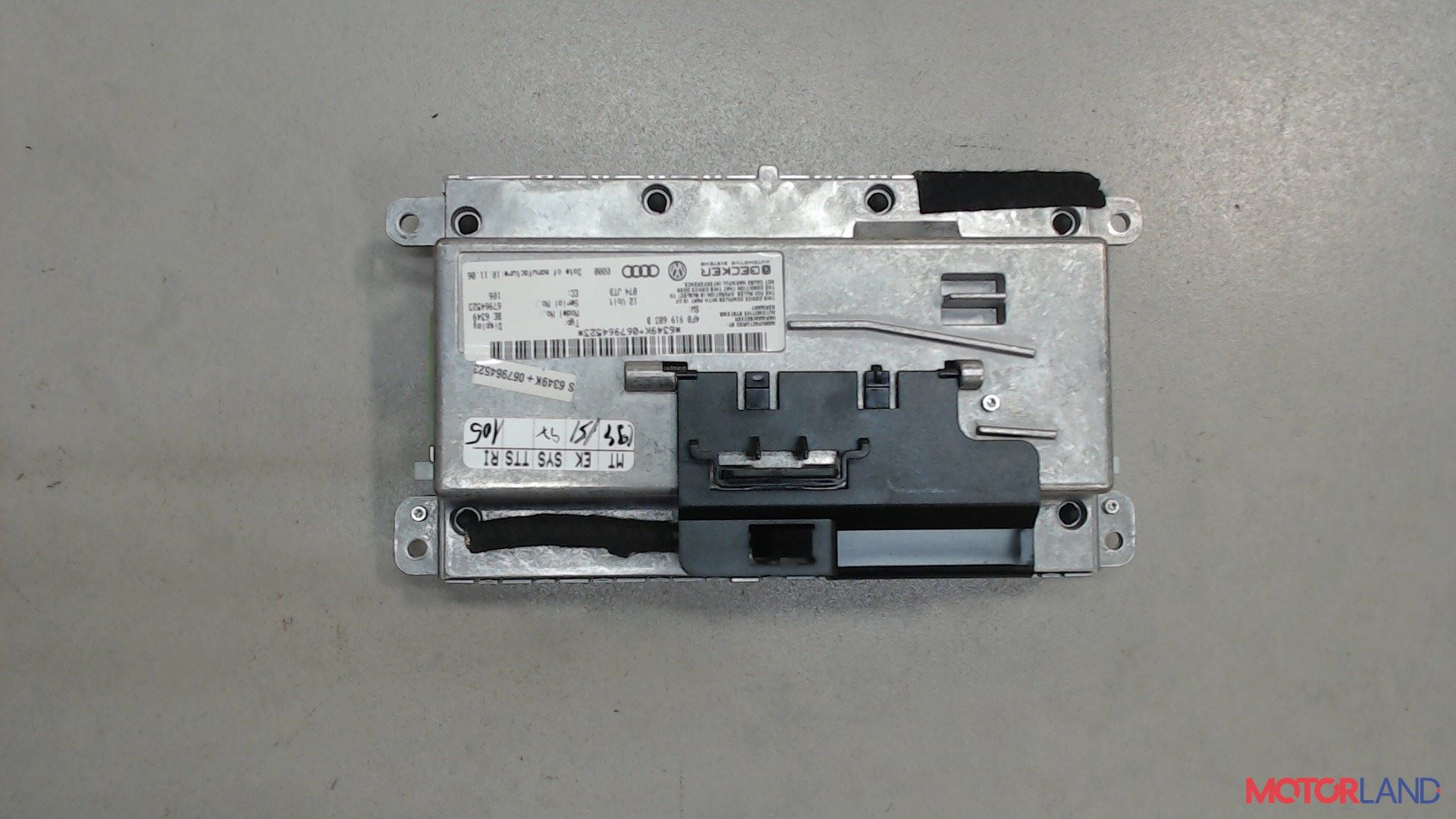 Дисплей компьютера (информационный) Audi A6 (C6) 2005-2011 2 л. 2006 BPJ б/у #2