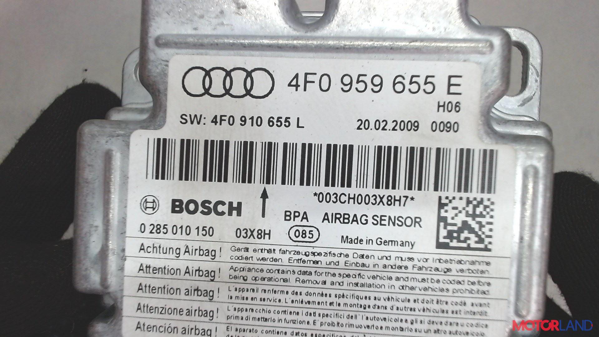 Блок управления (ЭБУ) Audi A6 (C6) 2005-2011 2 л. 2009 CAGB б/у #4
