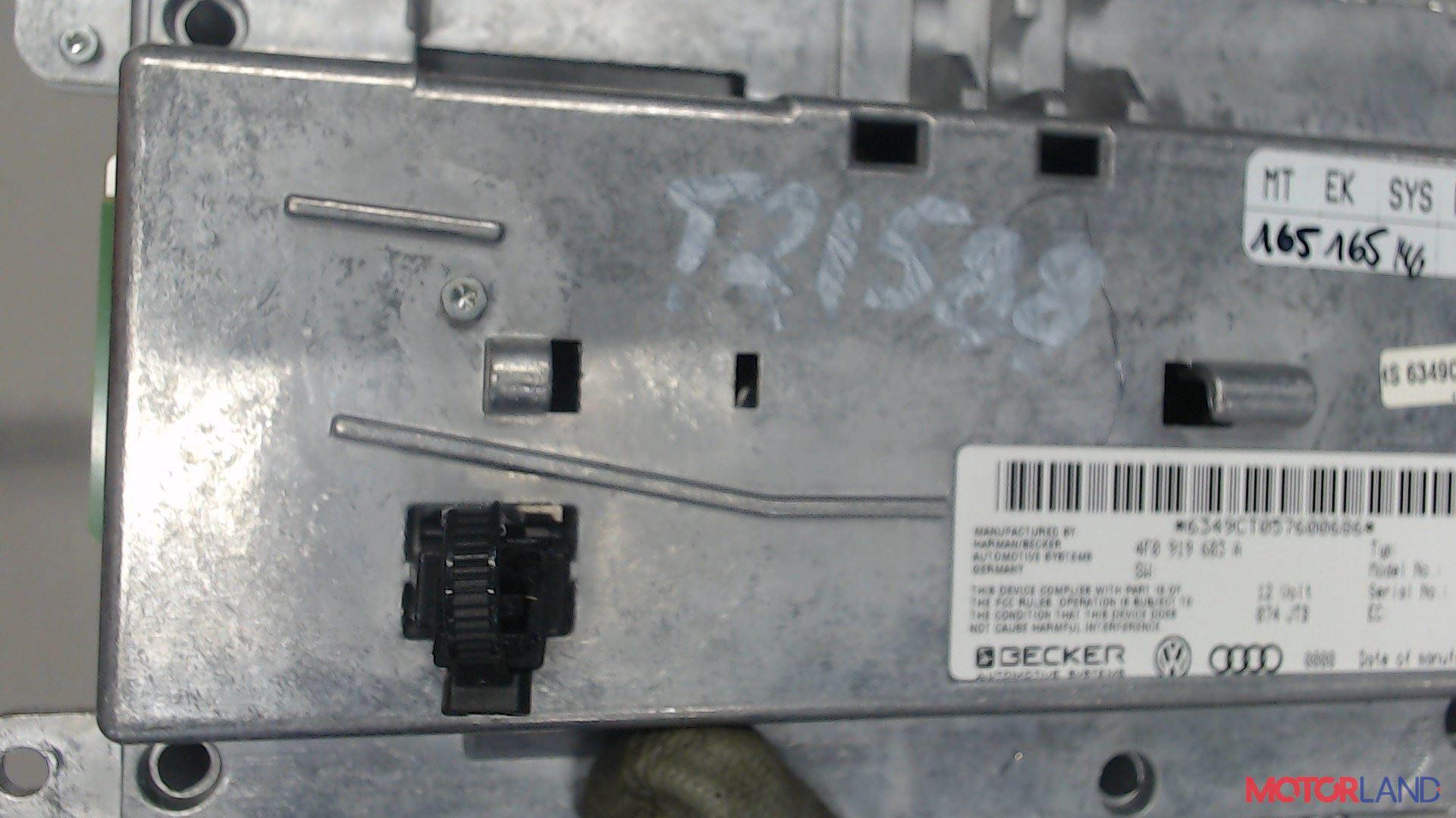 Дисплей компьютера (информационный) Audi A6 (C6) 2005-2011 3.2 л. 2005 AUK б/у #4
