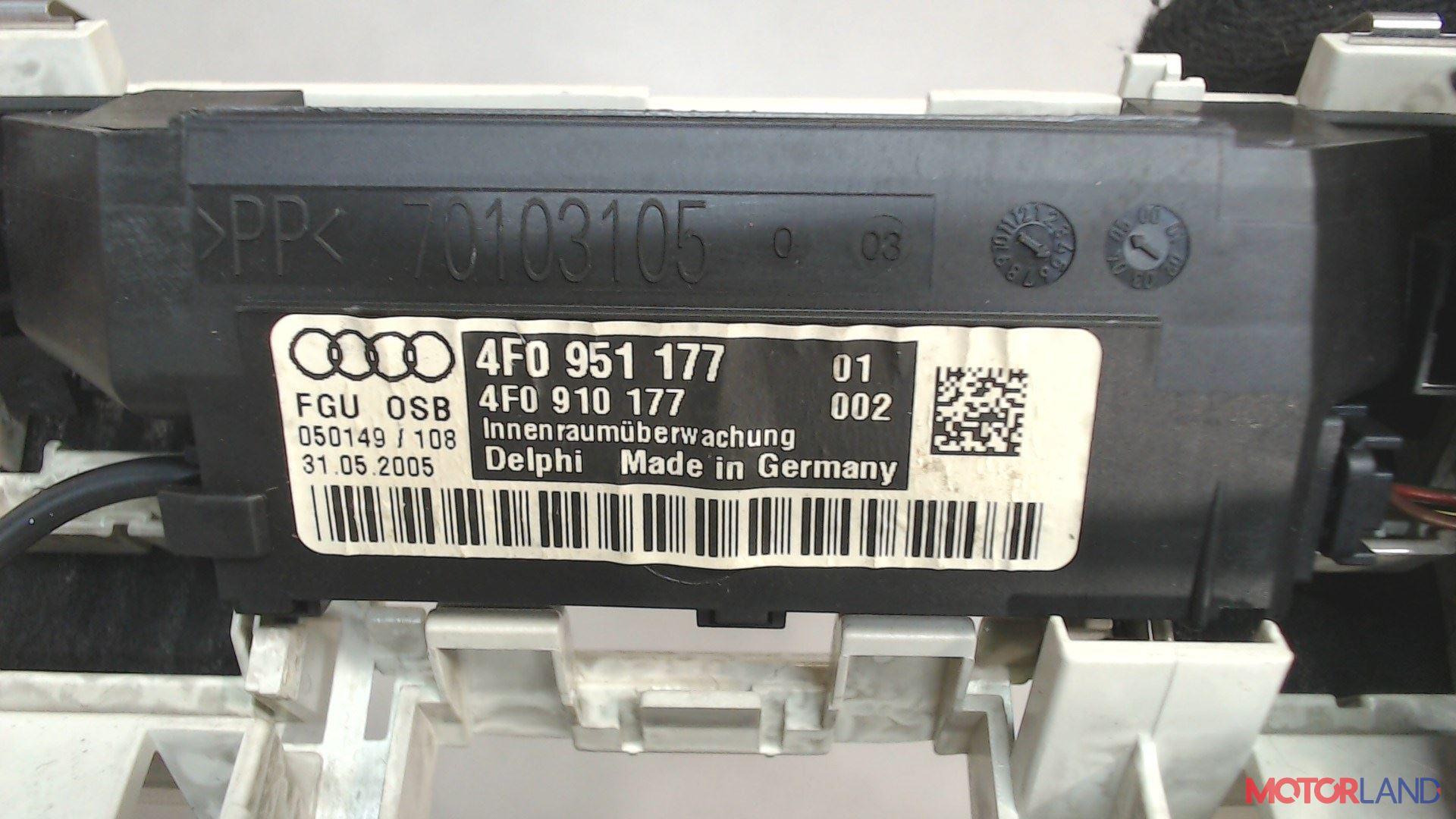 Фонарь салона (плафон) Audi A6 (C6) 2005-2011 3 л. 2005 BMK б/у #3