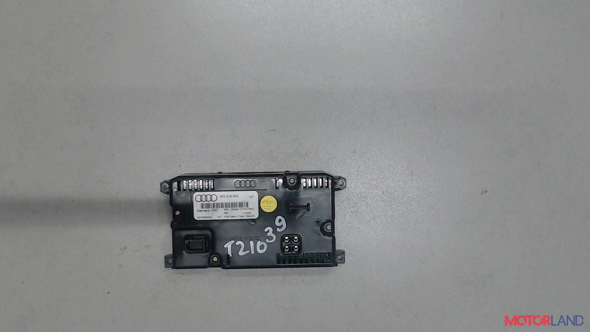 Дисплей компьютера (информационный) Audi A6 (C6) 2005-2011 3 л. 2005 BMK б/у #2