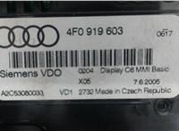 4F0919603 Дисплей компьютера (информационный) Audi A6 (C6) 2005-2011 6529801 #4