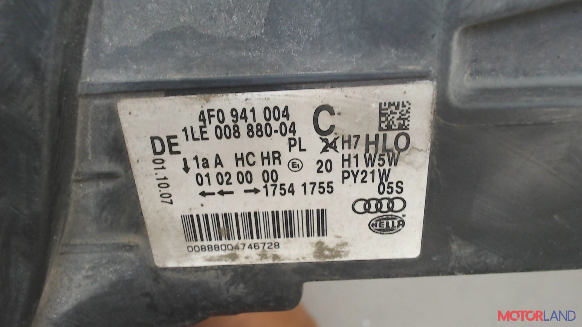 Фара (передняя) Audi A6 (C6) 2005-2011 2.7 л. 2007 BPP б/у #4