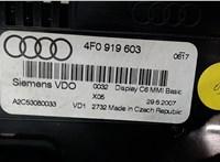 4F0919603 Дисплей компьютера (информационный) Audi A6 (C6) 2005-2011 6572305 #3