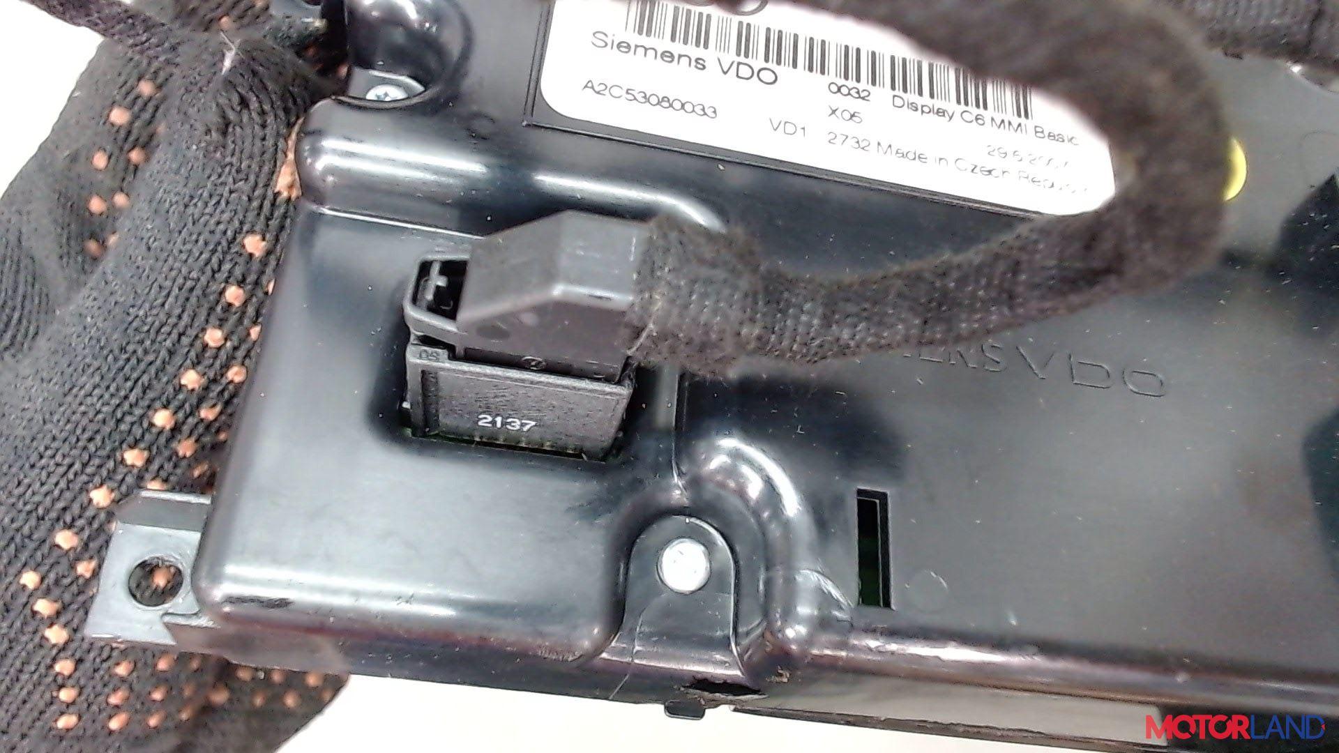 Дисплей компьютера (информационный) Audi A6 (C6) 2005-2011 2 л. 2008 BRE б/у #4