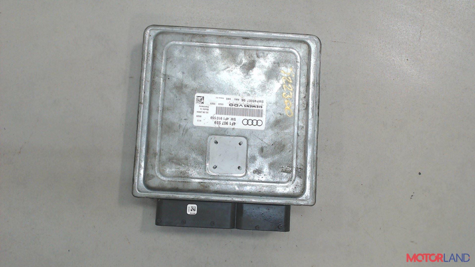Блок управления (ЭБУ) Audi A6 (C6) 2005-2011 3.2 л. 2005 AUK б/у #2