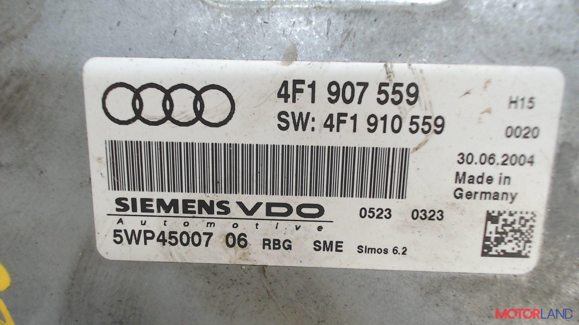 Блок управления (ЭБУ) Audi A6 (C6) 2005-2011 3.2 л. 2005 AUK б/у #3