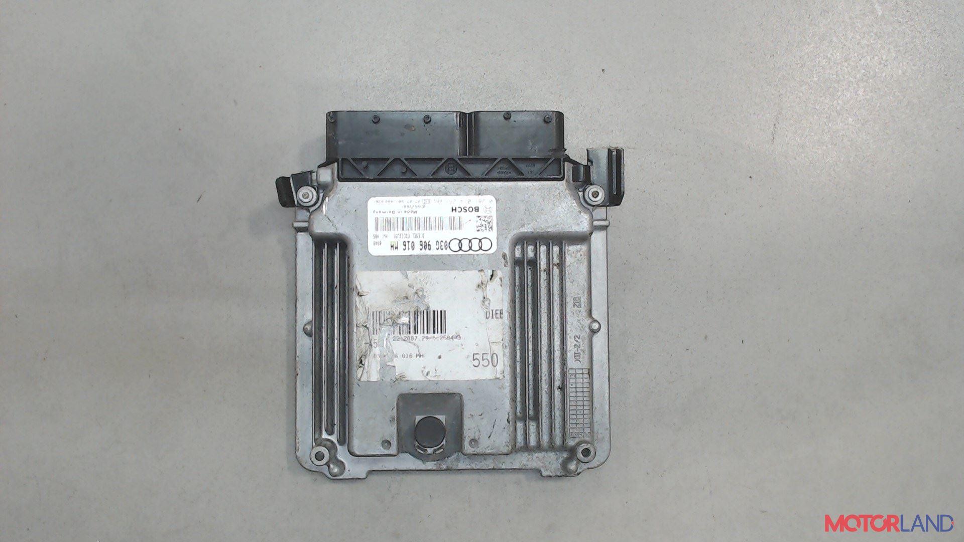 Блок управления (ЭБУ) Audi A6 (C6) 2005-2011 2 л. 2007 BRE б/у #1