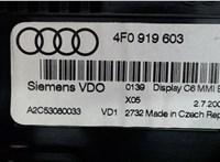 4F0919603 Дисплей компьютера (информационный) Audi A6 (C6) 2005-2011 6599086 #3