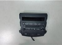 8002A073XA Панель управления магнитолой Mitsubishi Outlander XL 2006-2012 6613251 #1