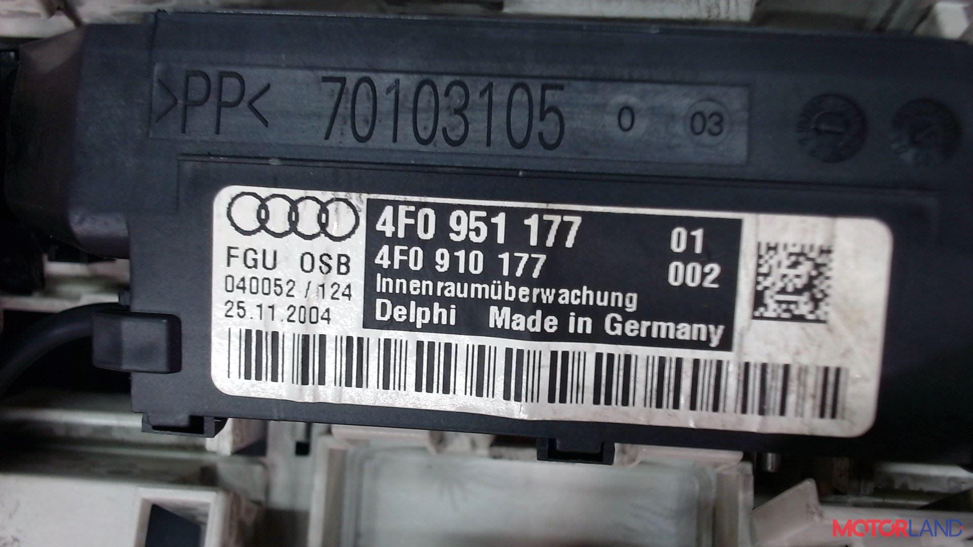 Фонарь салона (плафон) Audi A6 (C6) 2005-2011 2 л. 2005 BLB б/у #3