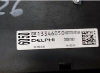 13346050 Панель управления магнитолой Opel Astra J 2010-2017 6633489 #3