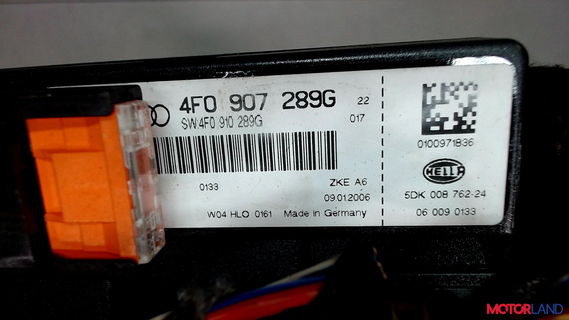 Блок управления (ЭБУ) Audi A6 (C6) 2005-2011 2.7 л. 2006 BPP б/у #3