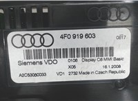 4f0919603 Дисплей мультимедиа Audi A6 (C6) 2005-2011 6739183 #4