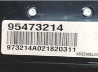 Панель управления магнитолой Chevrolet Cruze 2009-2015 6770382 #3